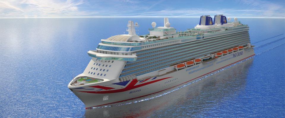 PO Britannia Barbados Cruise Excursions - Britannia cruise ship