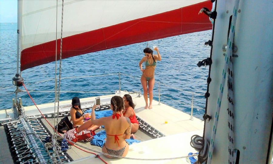barbados catamaran turtles snorkeling excursion