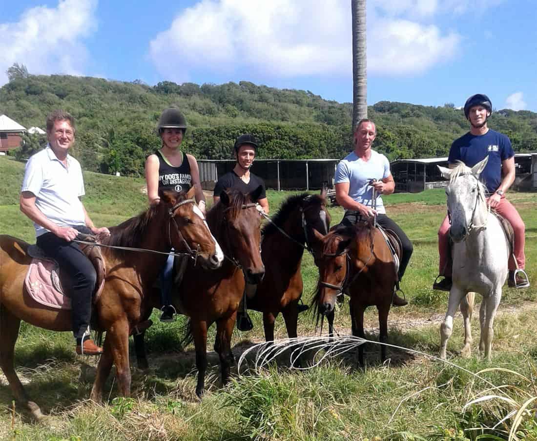 Island Beach Horseback Excursions